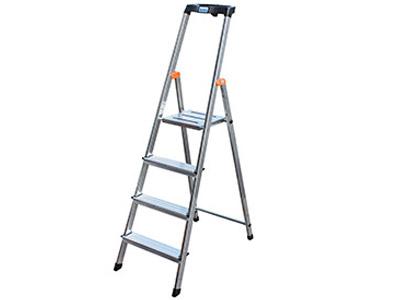 Drabina domowa aluminiowa Safety 5 stopni 126337
